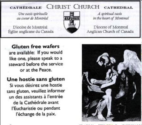 Der glutenfreie Laib des Herrn